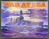"Vintage 1976 Avalon Hill BOARD GAME ""War At Sea"""
