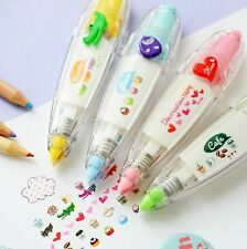 Lot 4pcs Decoration Deco Tape Cute Kawaii Stationery Cartoon Scrapbook Diary DIY