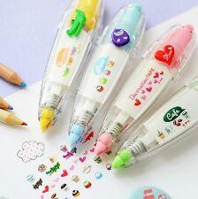 Lot 4pcs Decoration Deco Tape Cute Kawaii Stationery Cartoon Scrapbook Diary DIY