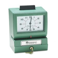 Acroprint Model 125NR4 Manual Time Recorder - 011070411