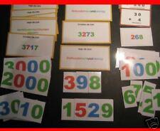 Stellenwertkarten + Aufgabenkarten Montessori Lernhilfe
