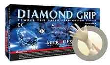 Diamond Grip Powder-Free Latex Gloves XL 100pc Box 7.9 Mil Great for Mechanics