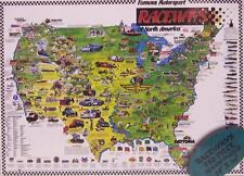 Jigsaw puzzle Sports Raceways of America 550 piece NEW