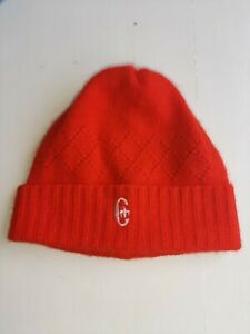 Conte of Florence Wool Cap Mod. Peruvian Red