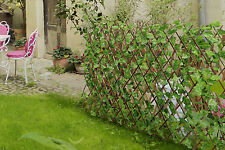 Expandable Artificial Faux Garden Hedge Privacy Fence Screen Plant Decor Panel