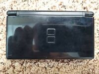 Nintendo DS Lite Black System (works, AS-IS, PARTS, REPAIR) #1615 free shipping
