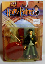 Harry Potter Gryffindor Harry 5'' Action Figure Set w/ Suction Cup Moc Sealed