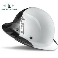 Lift Safety Dax 5050 Carbon Fiber Full Brim Hard Hat Black Camo White New