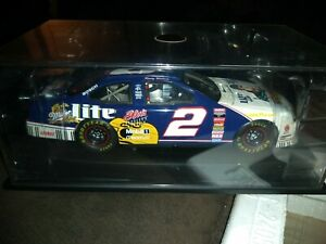 1:24 ACTION 1998 #2 MILLER LITE FORD RUSTY WALLACE ELVIS PRESLEY MEMPHIS GUITAR