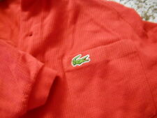 vintage red Izod Lacoste golf polo    shirt men's adult Small  made in usa