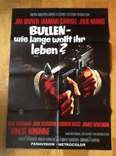 Bullen - wie lange wollt ihr leben? (Kinoplakat ´69) Jim Brown / Ernest Borgine