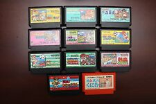Famicom FC River City Nekketsu Kunio-kun completed series 11 game lots US Seller