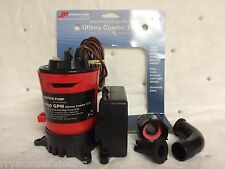 BILGE PUMP 1000GPH JOHNSON PUMP 189 0790300 WITH AUTOMATIC FLOATSWITCH ULTIMA