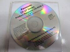 USATO Panasonic Toughbook cf-27 Recupero Disc CD di Windows 2001 mk2-2k1x