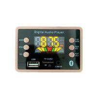 DC 12V Professional Car Audio FM Radio Universal MP3 Decoder Board Bluetooth 5.0