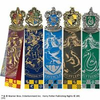 Harry Potter Hogwarts House Crest Bookmark Collection 5 - Boxed Collectors Logos
