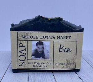 BULK 4 PACK Handmade ~ BEN (Armani) ~ Fragrance Oil Soap AUSTRALIAN MADE