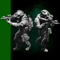1/35 US Seal Attack Team Soldier Figure Resin YUFAN Model Kits(Set) YFWW35-1823
