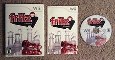 Fritz Chess (Nintendo Wii, 2009) Complete Rare CIB