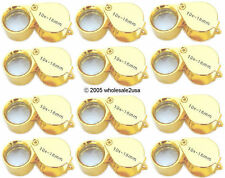 12 Gold Jewelers Metal Eye Loupe ~ Wholesale Lot ~
