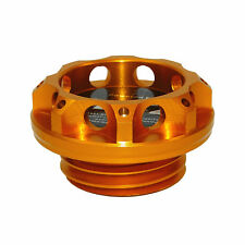 CNC Engine Oil Fuel Filler Cap Cover Orange-Gold For SUBARU Impreza WRX STI BRZ