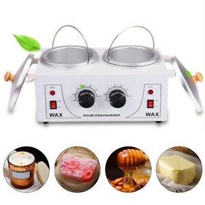1.2L Wax Warmer Melter Melting Machine Double Pot Heater for Candle Making 110V