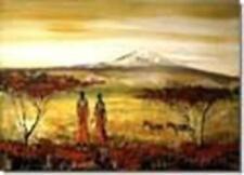 Abstrakte künstlerische Öl-Malerei auf Leinwand