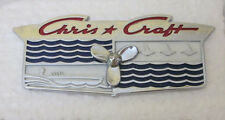 Vintage Chris Craft Propeller Plate NOS