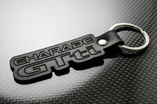 Charade GTti Leather Keyring Keychain Schlüsselring Porte-clés Daihatsu Turbo