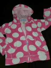 Mini Boden Girls Pink Terry Jacket 4 5 Years