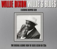Willie Dixon - Willie's Blues - Feat. Memphis Slim (2CD 2013) NEW/SEALED