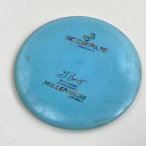 Millennium Disc Golf Sirius 1.9 Scorpius Gregg Barsby 2018 Champion 163-166g