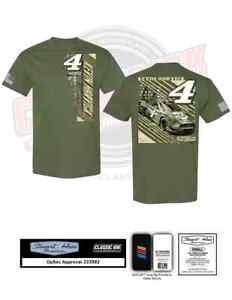 Kevin Harvick #4 Busch Light Patriotic Olive Green Shirt 2021 New Free Ship