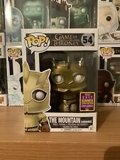 The Mountain (Gold armoured) Game of Thrones #54 SDCC 2017 Exclusive sticker