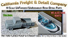 California Freight & Details 1961 Ford Flatbed Pickup STRAIGHT Sides Kit N/1:160