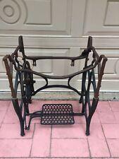 Vintage- LARGE-antique treadle Industrial sewing machine treadle cast iron base