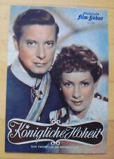 KÖNIGLICHE HOHEIT  Filmprogramm IFB Nr. 2197 Ruth Leuwerik
