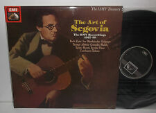 RLS 745 JS Bach Mendelssohn Albeniz Granados Ponce The Art Of Andres Segovia 2LP