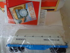 LIONEL O 0/27  BORDEN'S MILK TANK CAR B.F.I.X.520