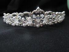 Bridal Headpiece Rhinestone Crystal  Wedding Prom