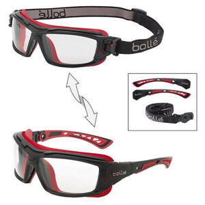 Bolle ULTIM8 Safety Glasses Spectacles Goggles with Pivoting Temples Clear Lens