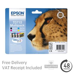 Genuine Epson T0711 T0712 T0713 T0714 T0715 Ink Cartridges