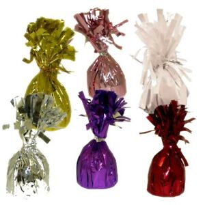 Foil Balloon Weights, Various Colours