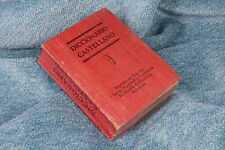 Libro Miniatura. Diccionario castellano. Miniature book. Spanish dictionary