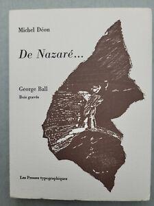 DEON (Michel). De Nazaré... Bois originaux par George Ball.