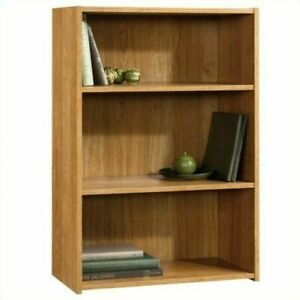 Sauder 413322 3-Shelves Bookcase for Home Office - Highland Oak Finish