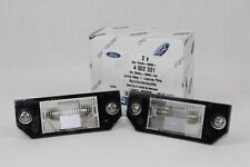 Genuine Number Plate Lighting 2 Pcs Ford Focus - C - Max 4502331 2X