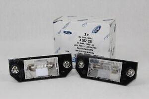 Original Kennzeichenleuchten 2 Stück Ford Focus - C-Max 4502331 2x