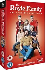 THE ROYLE FAMILY (1998-2012): COMPLETE TV Series + Christmas Specials NEW DVD UK