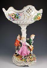 Von Schierholz German Porcelain Figural Children Compote Bowl
